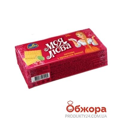 Печенье Загора Моя люба вишня 170 г – ИМ «Обжора»