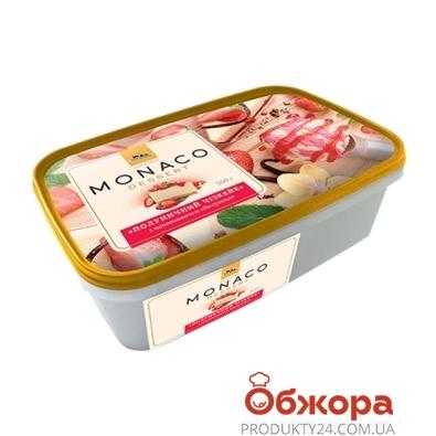 Мороженное Три медведя Monaco Dessert Клубничный чизкейк 500 г – ИМ «Обжора»