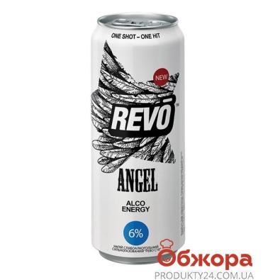 Напиток энергетический Рево (Revo) Аngel 0,5 л – ИМ «Обжора»