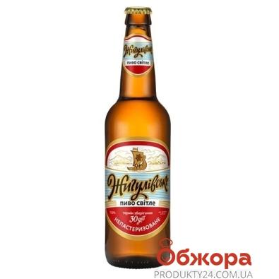 Пиво Оболонь светлое Жигулёвское 0,5 л – ИМ «Обжора»