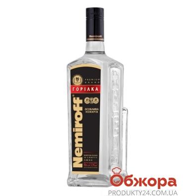 Водка Немирофф (Nemiroff) штоф черный 1,75 л – ИМ «Обжора»