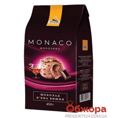 Мороженое Три медведя Monaco Шоколад-вишня 450 г – ИМ «Обжора»