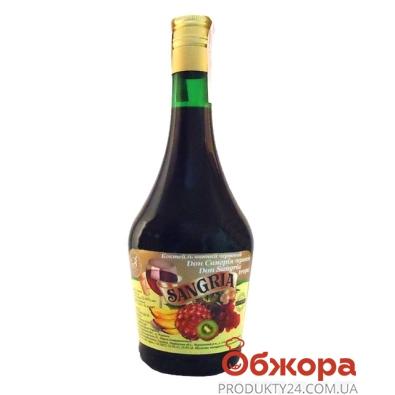 Коктейль винный Дон Сангрия (SANGRIA) Тропик красное 0,75 л – ИМ «Обжора»