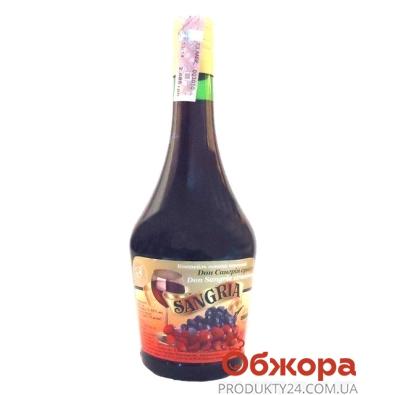 Коктейль винный Дон Сангрия (SANGRIA)  Клубника красное 0,75 л – ИМ «Обжора»