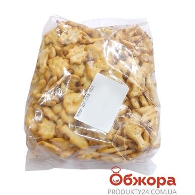 Печенье Грона крекер морской круиз сыр вес – ИМ «Обжора»