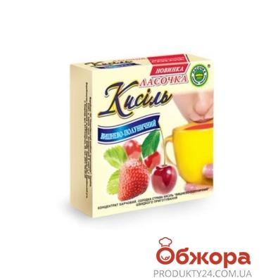 Кисель Ласочка вишнево-клубничный 180 г – ИМ «Обжора»