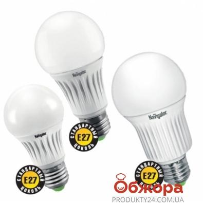 Лампа Navigator 94 386 NLL-A60-7-230-4K-E27 (7Вт, 220-240 В) – ИМ «Обжора»
