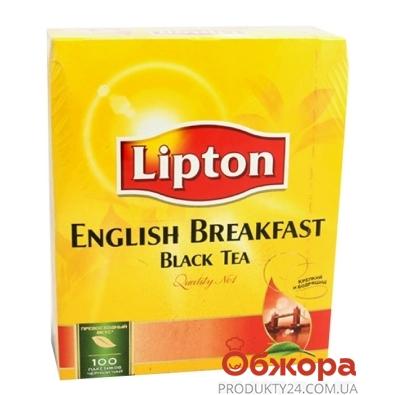 Чай Липтон (Lipton) Английский завтрак 100 п – ИМ «Обжора»