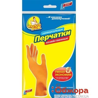 Перчатки Фрекен Бок латексные L – ИМ «Обжора»