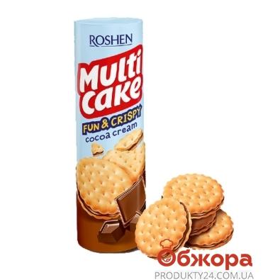 Крекер Рошен (Roshen) Мульти-кейк Fun & Crispy Какао 135 г – ИМ «Обжора»
