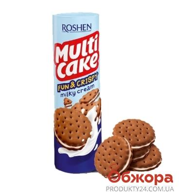Крекер Рошен (Roshen) Мульти-кейк Fun & Crispy Молоко 135 г – ИМ «Обжора»