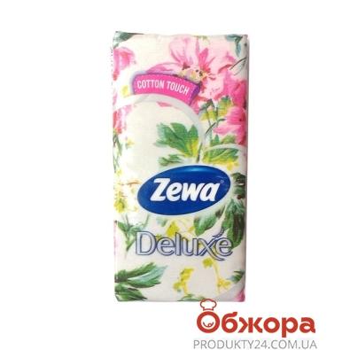 Платки носовые Зева (ZEWA) Мир Саванны 3 слоя 10*10 шт – ИМ «Обжора»