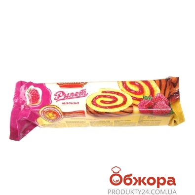 Рулет Домашне Свято лесная ягода 200 г – ИМ «Обжора»