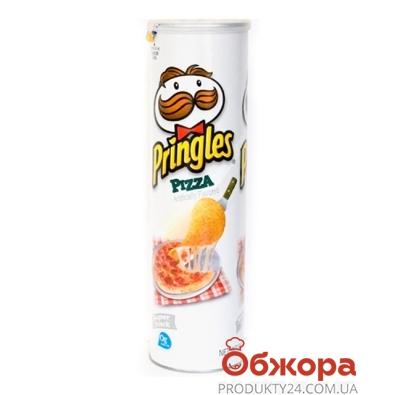 Чипсы Принглс пицца 165 г – ИМ «Обжора»