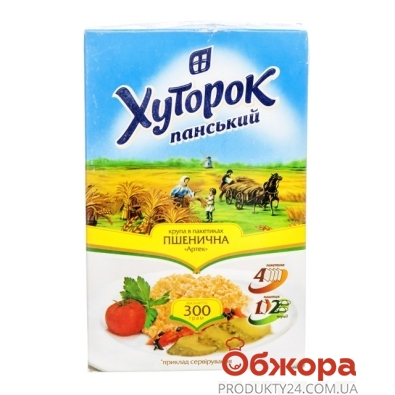 Крупа Хуторок пшеничная артек 300г – ИМ «Обжора»