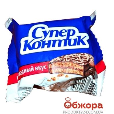 Печенье Конти (Konti) супер-конти шоколад 50г – ИМ «Обжора»