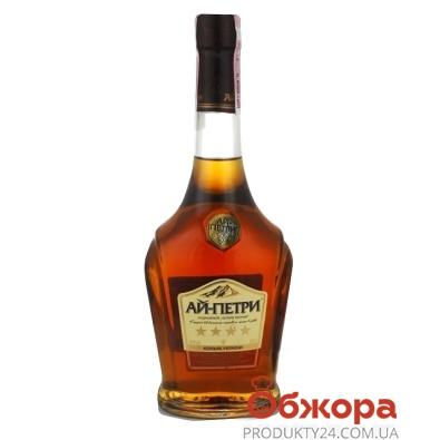 Коньяк Ай-Петри 4* 0,5л – ИМ «Обжора»