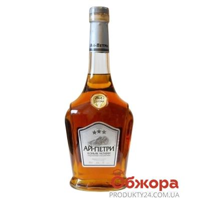 Коньяк Ай-Петри 3* 0,5л – ИМ «Обжора»