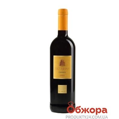 Вино Сизарини (Sizarini) Chianti красное сухое 0,75 л – ИМ «Обжора»