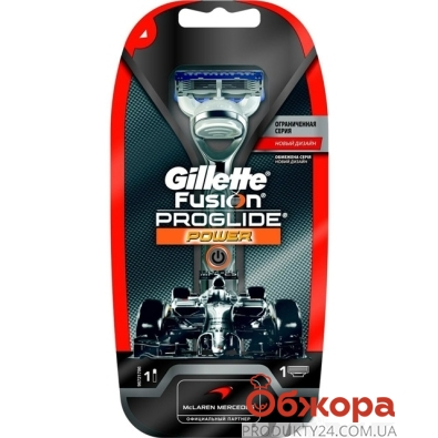 Станок Джилет (Gillette) FUSION ProGlide Power Silver + 1 картр. – ИМ «Обжора»