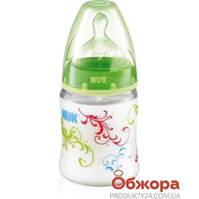 Бутылочка Нук (Nuk) FirstChoice 150мл.+соска лат. р1 – ИМ «Обжора»