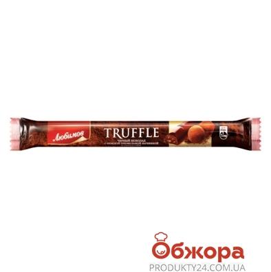 Батончик Любимов черный трюфель орех 12,5г – ИМ «Обжора»