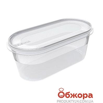 Ёмкость Хельсинки (Helsinki)  для морозилки овальн. 0,8 л – ИМ «Обжора»