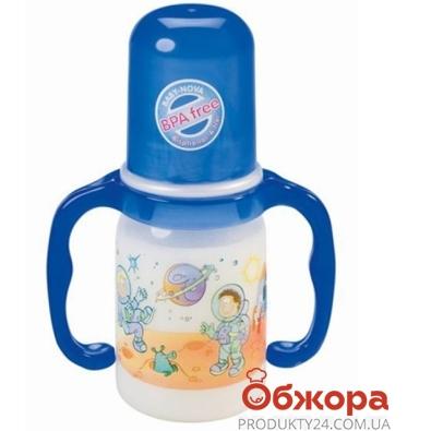 Бутылочка Беби Нова (Baby-Nova)  Декор 125мл – ИМ «Обжора»