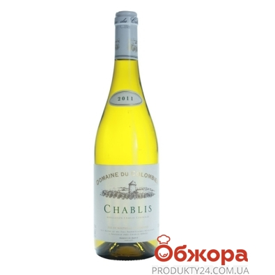 Вино Домен дю Коломбье (Domaine du Colombier) Шабли сухое белое 0,75 л – ИМ «Обжора»