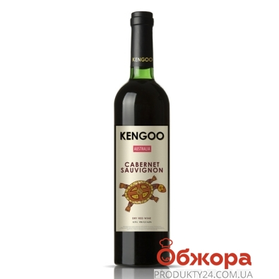 Вино Кенгоо (Kengoo) Каберне Совиньон красное сухое 0,75 л – ИМ «Обжора»