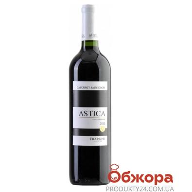 Вино Trapiche Астика (Astica) Каберне-Совиньон красное сухое 0,75 л – ИМ «Обжора»