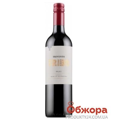 Вино Тривенто (Trivento) Мальбек сухое красное 0.75 л – ИМ «Обжора»