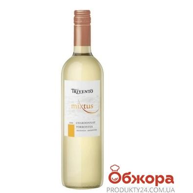 Вино Тривенто (Trivento) Шардоне-Торонтес белое сухое 0.75л – ИМ «Обжора»