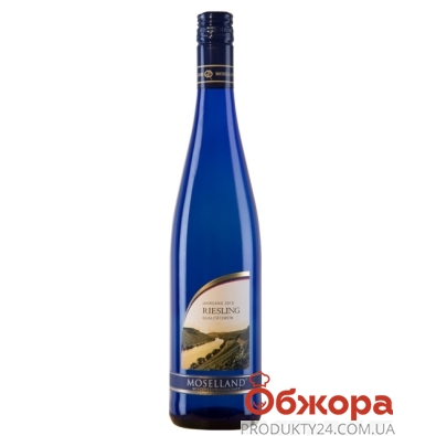 Вино Германии Мозеленд (Moselland) Рислинг белое п\сл 0,75 л – ИМ «Обжора»