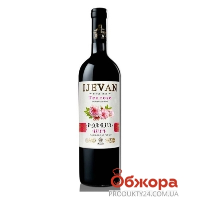Вино Иджеван (Ijevan) Чайная Роза белое п/сл 0,75л – ИМ «Обжора»