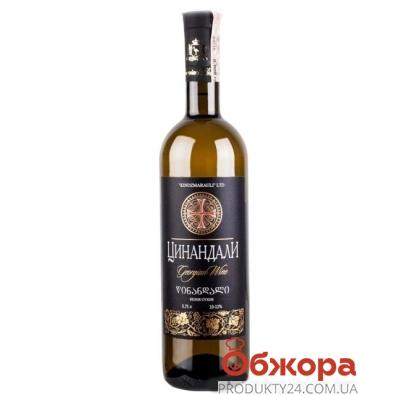 Вино Грузия Киндзмараули (Kindzmarauli) Цинандали белое сухое 0,75л. – ИМ «Обжора»