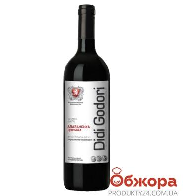 Вино Диди Годори (Didi Godori) Алазанська долина красное п/сл 0,75л – ИМ «Обжора»