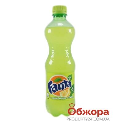 Вода Фанта (Fanta) лимон 0,5л – ИМ «Обжора»