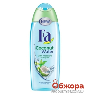 Гель для душа ФА (FА) Coconut Water 250 мл – ИМ «Обжора»