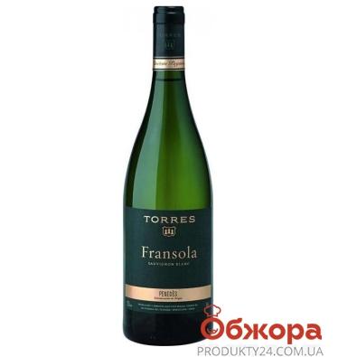 Вино Торрес (Torres) Франсола Совиньон блан белое 0,75 л – ИМ «Обжора»