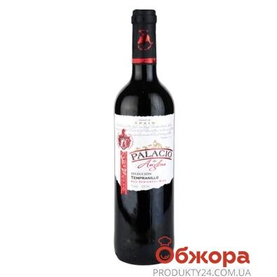 Вино Паласио де Англона (Palacio de Anglona) Темпранильо красное п/сл 0,75л – ИМ «Обжора»
