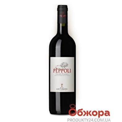 Вино Вилла Антинори  (Villa Antinori) Пепполи Кьянти Классико 0,75 л – ИМ «Обжора»