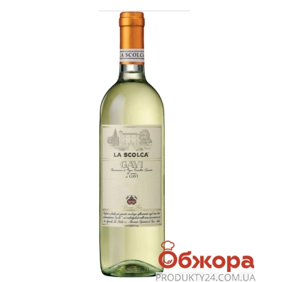 Вино Ла Сколька (La Scolca) Гави DOCG 2008 – ИМ «Обжора»