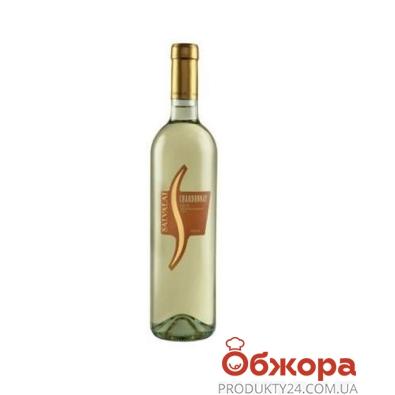 Вино Салвалай (Salvalai)  Шардоне белое сухое 0,75 л – ИМ «Обжора»