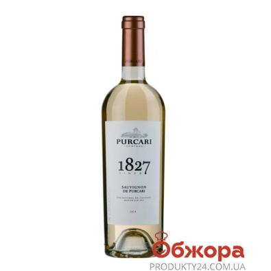 Вино Пуркари (Purcari) Совиньон белое сухое марочное 0.75 л – ИМ «Обжора»