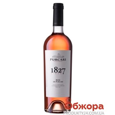 Вино Пуркари (Purcari) Розе розовое сухое марочное 0.75 л – ИМ «Обжора»