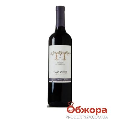 Вино Коламбия Крест (Columbia Crest) Мерло красное полусухое 0,75л – ИМ «Обжора»