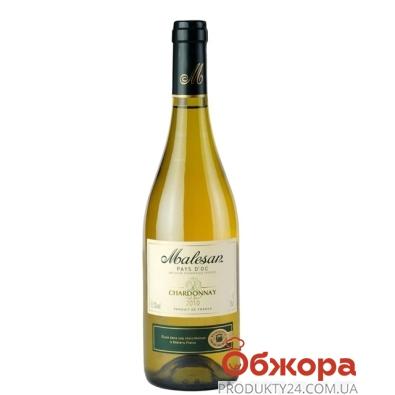 Вино Малезан (Malesan) Шардоне белое сухое 0,75 л – ИМ «Обжора»