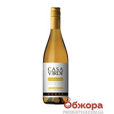 Вино  Каса Верде (Casa Verde)  Reserva Шардоне белое сухое 0,75л – ИМ «Обжора»