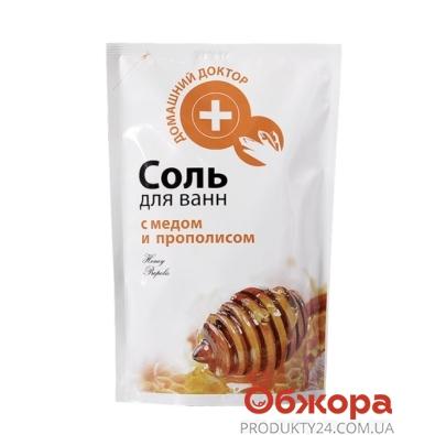 Соль для ванной Домашний Доктор с прополисом 500г. д/п – ИМ «Обжора»